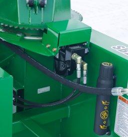 Electrically controlled hydraulic motor