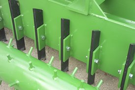 Cutting teeth on SP20 Series Soil Pulverizers