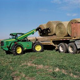 MJ4081 is ideal for handling large hay bales