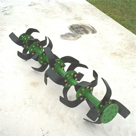 C-blade tiller creates versatility