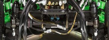 Steering cylinder and linkage system