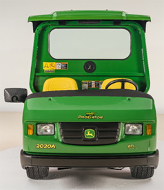 Canopy kit with rear view mirror and rear panel kit