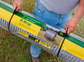 A roll of John Deere B-Wrap