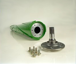 Replaceable end shafts