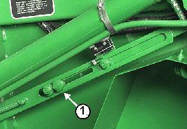 Manual bale size adjustment