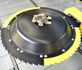 Saw blades with changeable segments