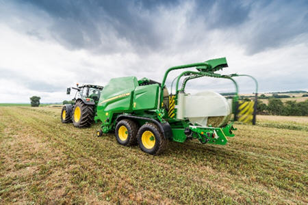 Wrap a bale with film every 39 seconds
