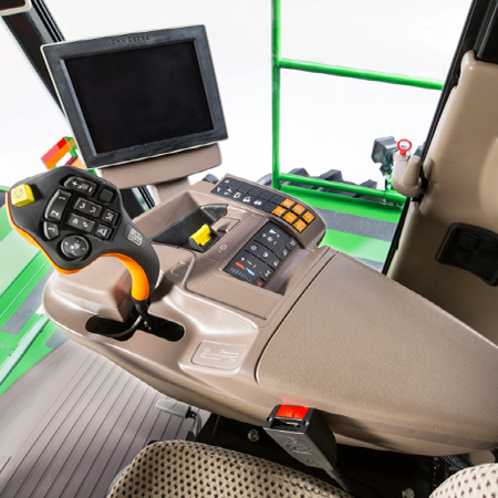 CommandARM console in the W200M Windrowers