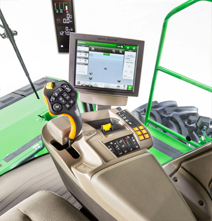 CommandARM console in the W200R Windrowers