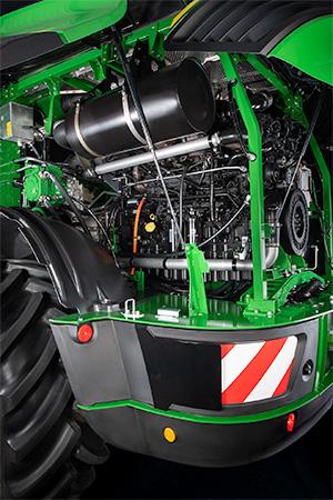 John Deere 9000 Series with JD18X engine