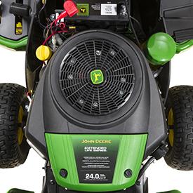 24-hp (17.9-kW) engine