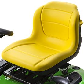 Comfortable lumbar seat