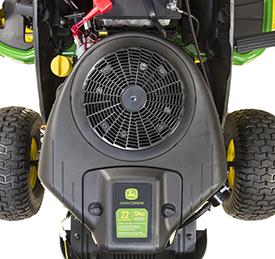 22-hp (16.4-kW) engine