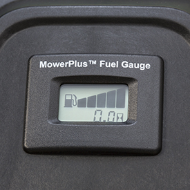 Easy-read fuel gauge