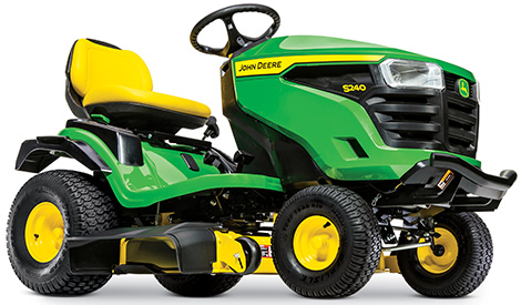 S240 with 42-in. (107-cm) Accel Deep™ Mower Deck
