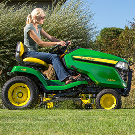 X394 with Accel Deep 48A Mower