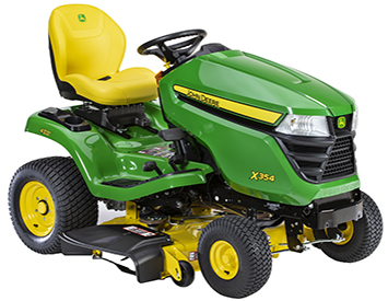 X354 with Accel Deep 42A Mower