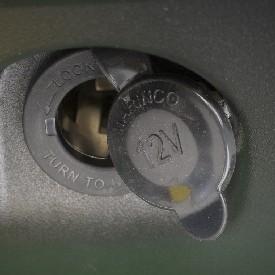 Standard 12-V outlet