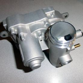 Electrically actuated air inlet valve