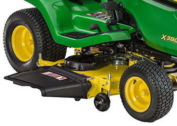 Accel Deep 48A Mower Deck (shown on X380 Tractor)