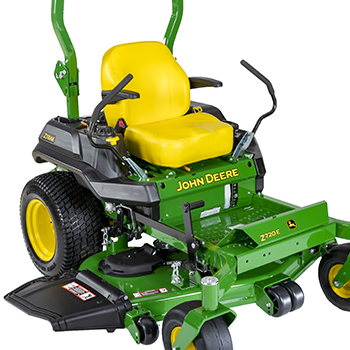 Z720E with 54-in. (137-cm) HC PRO Mower Deck