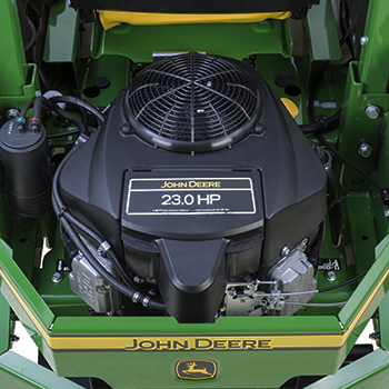 23-hp (17.2-kW) engine