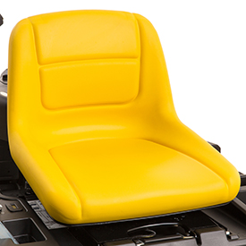 Comfortable seat (Z335E shown)