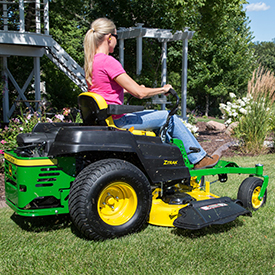 Z525E with 54-in. (137-cm) Mower Deck shown