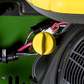 Engine oil check/fill tube