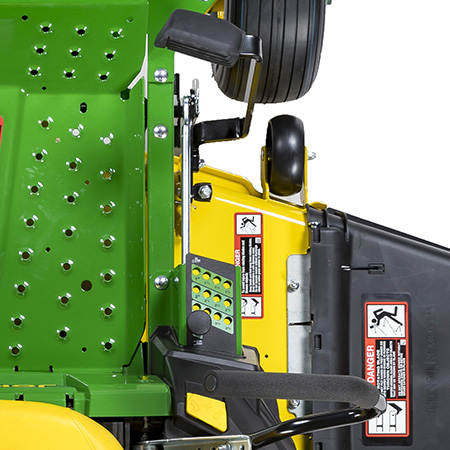 Mower lift pedal and cut-height adjustment