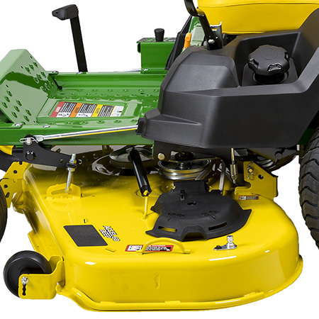 Accel Deep Mower Deck, trim side