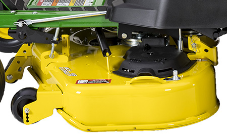 High capacity mower deck (left side)