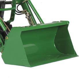 1550-mm (61-in.) materials bucket
