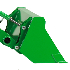 1250-mm (49-in.) pin-on materials bucket