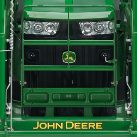 Hood guard shown on 8R Series Tractor