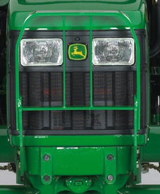 Hood guard on 5 Series Tractor