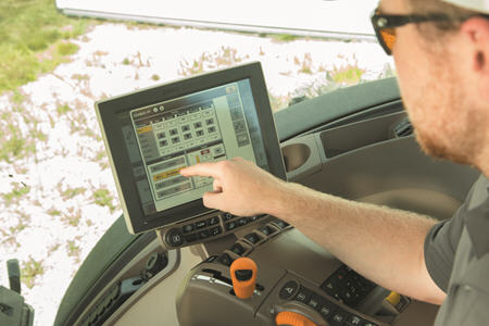 TruSet allows for adjustments from the cab