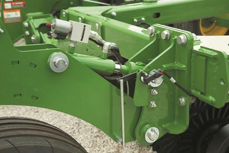 Hydraulic cylinder for stabilizer wheels