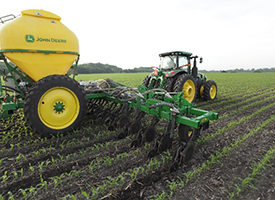 15-row 2510H with dry attachment