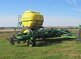 16-row 2510H with dry attachment