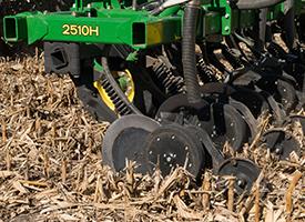 Fall application in corn stock