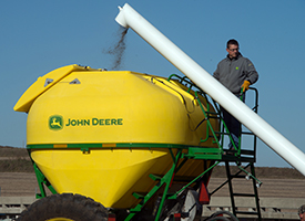 Filling dry tank