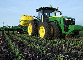 15-row side-dress in corn