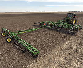 200 Seedbed Finisher with 2330 Mulch Finisher