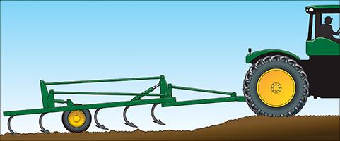 Level-lift hitch frame on 2230LL