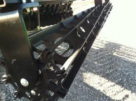 Hydraulic flat bar rolling basket harrow