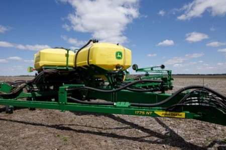 Liquid Tank mounted to a 24-row 1775NT Planter