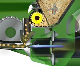 Seed meter and venturi