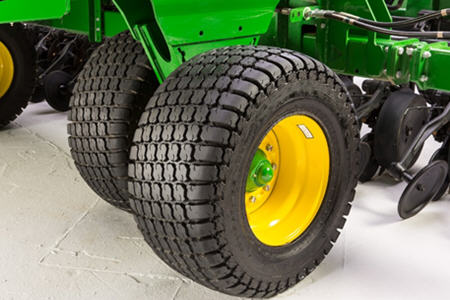 33x15.5R16.5 tires with walking beam