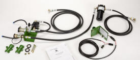 Auxiliary hydraulic outlet bundle
